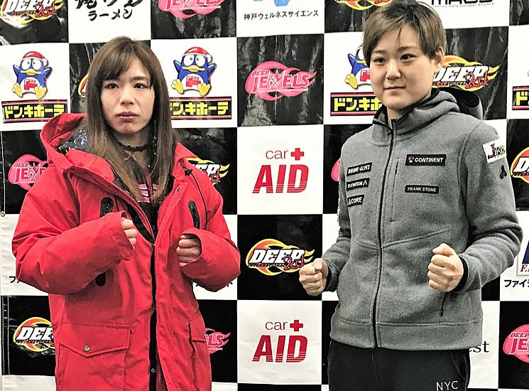 Lady Go! : 中井りんが1Rパウン...