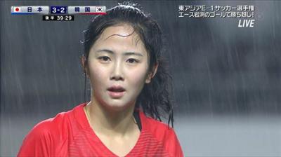 美貌で日本を圧倒した韓国代表10番さんの顔面ファンタジスタぶりが話題に!!