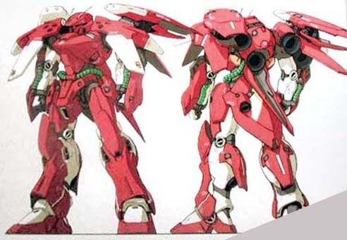 テトラ改の設定としてはスラスター・装甲が強化されており、 武装はテトラとほぼ同一の模様です。