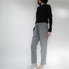 belted pt x cuff knit