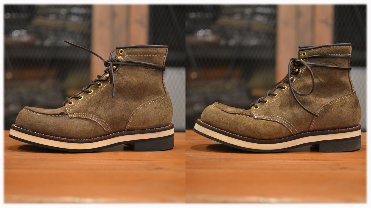 MOC TOE SUEDE WORK BOOTS : Laid Back