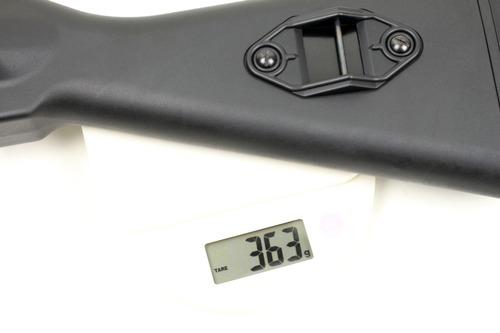 CYMA製のストックは363g