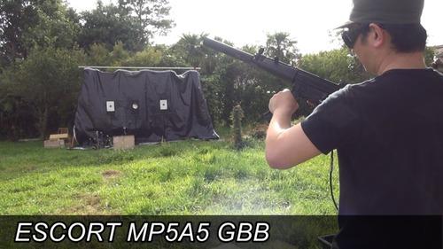 ESCORT MP5A5 GBB