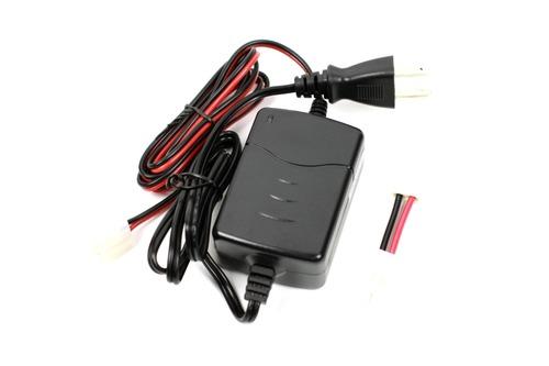 充電器本体とラージ・ミニ変換コネクタ