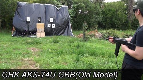 GHK AKS-74U(Old Model) GBB