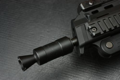AKS-74Uのフラッシュハイダーを付けてみた