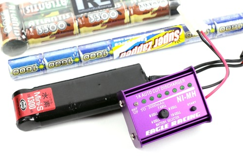 各種Ni-MHバッテリーに対応