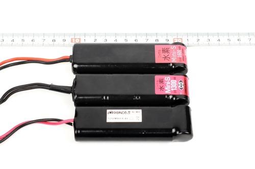 バッテリー大きさ比較