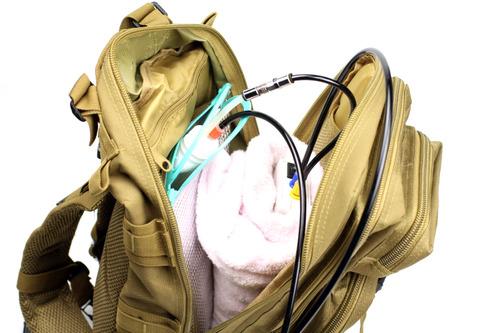 運ぶためのバッグ