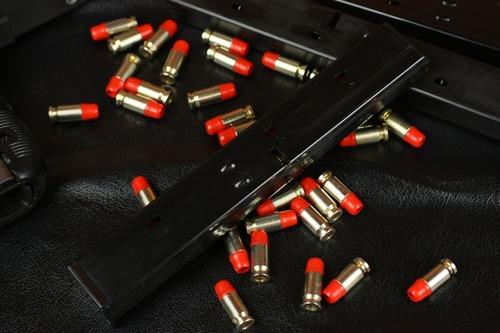 装弾数18発と実銃より2発少ない