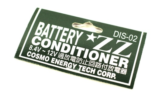 4Vから12Vのニッカド、ニッケル水素バッテリーに対応