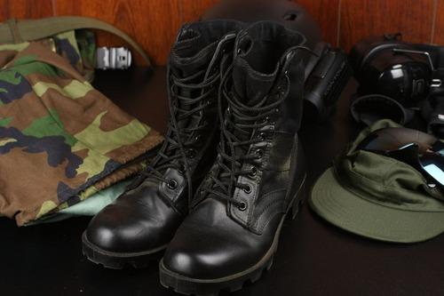 米軍レザージャングルブーツ
