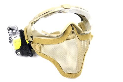 改良型フルフェイスマスク