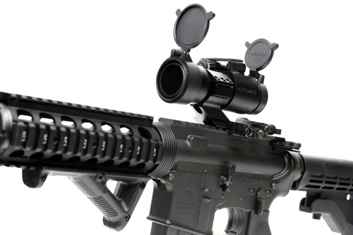 Aimpoint COMP M2タイプダットサイトを取付け
