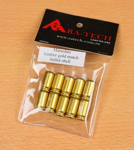kimber gold match bullet shell