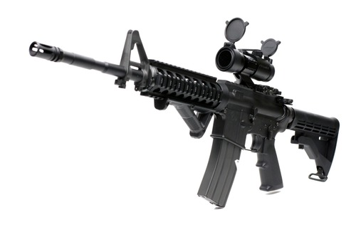 Aimpoint COMP M2タイプ取付け