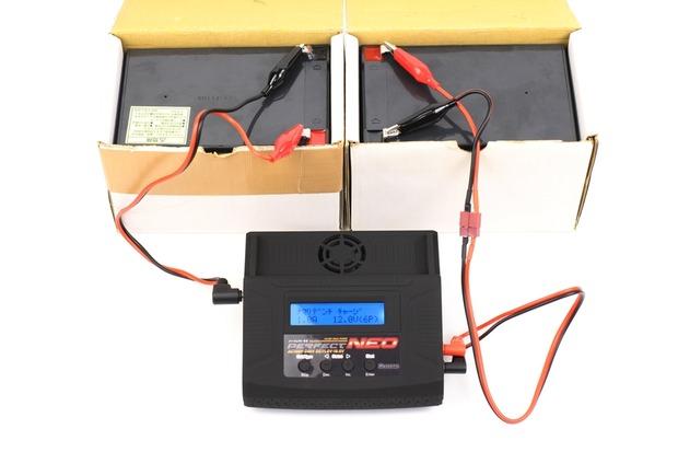 鉛バッテリーで鉛バッテリーを充電