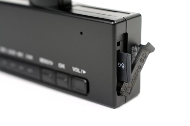 付属のメディアはmicroSDHC 8GB