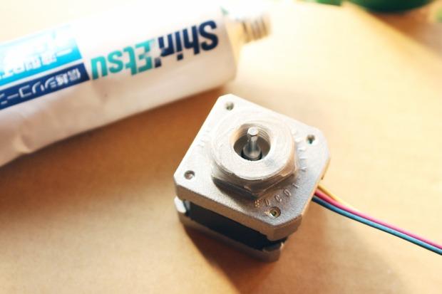 モーターの防水加工