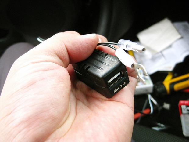 USB電源アダプター