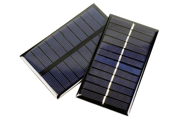 2種類のソーラーパネル