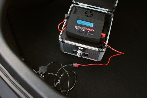 バッテリーを補充電