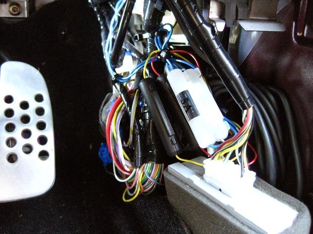 HDROP-09の余剰ケーブル処理