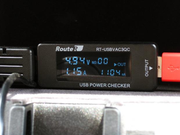 電圧と電流を計測