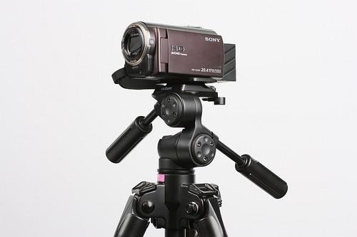 SONY HDR-CX590Vを載せて