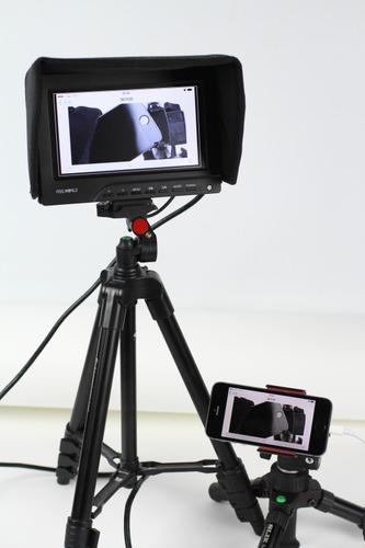 iPhoneを使った撮影システム