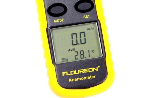 風速を計測するモード