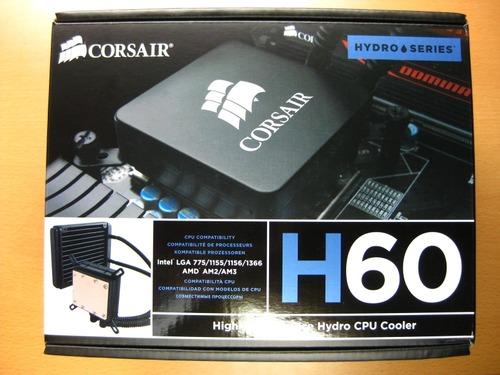 Corsair_Hydro_Series_H60パッケージ