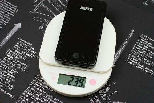 重量は239g