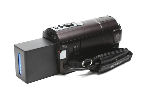 SONY HDR-CX590Vに取付け
