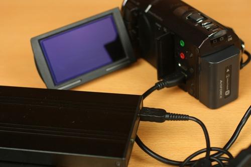 HDDに直接録画データをコピー