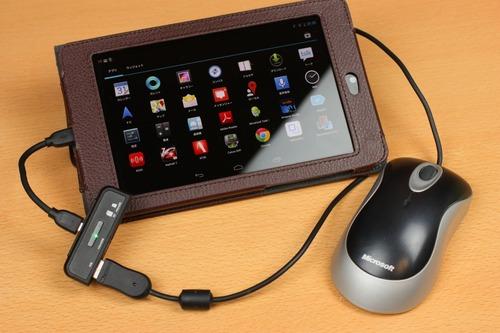 USBマウスも動く
