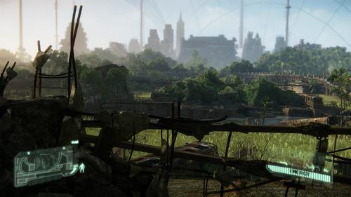 廃墟と自然の組合わせ