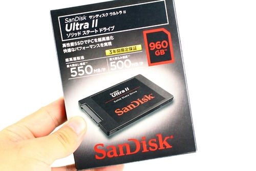 SanDisk SSD UltraII SDSSDHII-960G-J25