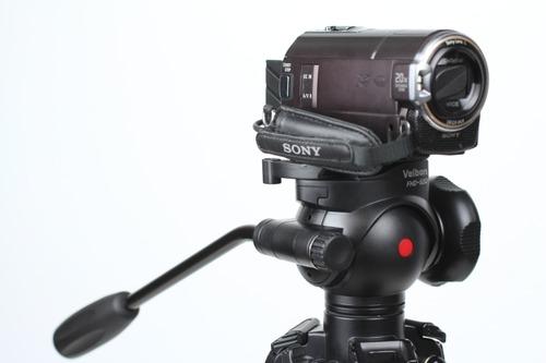 デジタルビデオカメラを取付けてみた