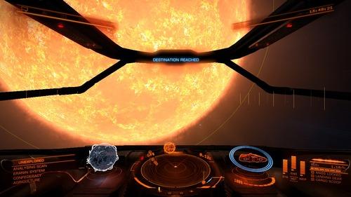星系の一番大きな恒星に飛び出てる