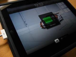 RCG-C29BK iPadケーブルは充電できた