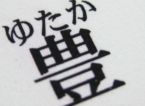 文字の拡大 互換インク