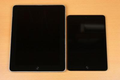 iPad miniと初代iPad
