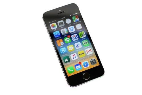 素の状態のiPhone5s