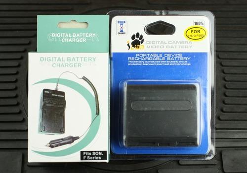 互換バッテリーと充電器
