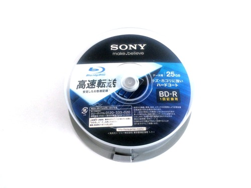SONY データ用BD-R 25BNR1DCPP6