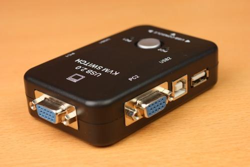 USBKVMBK USB2ポートKVMスイッチボックス