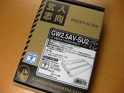 GW2.5AV-SU2パッケージ