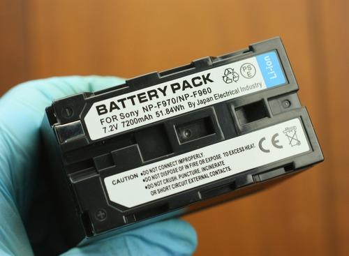 SONY F970互換バッテリー
