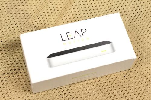 Leap Motionのパッケージ